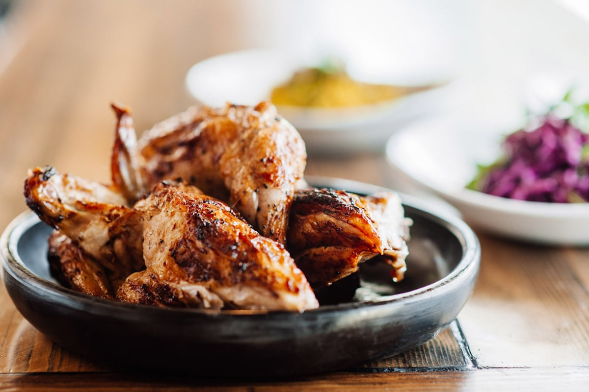 The Char Rotisserie charcoal chicken shop