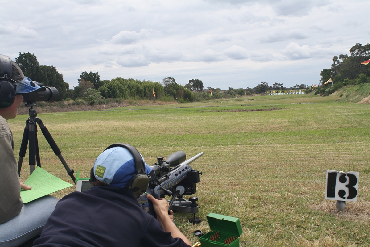 Outdoor Shooting at hornsby rifle range