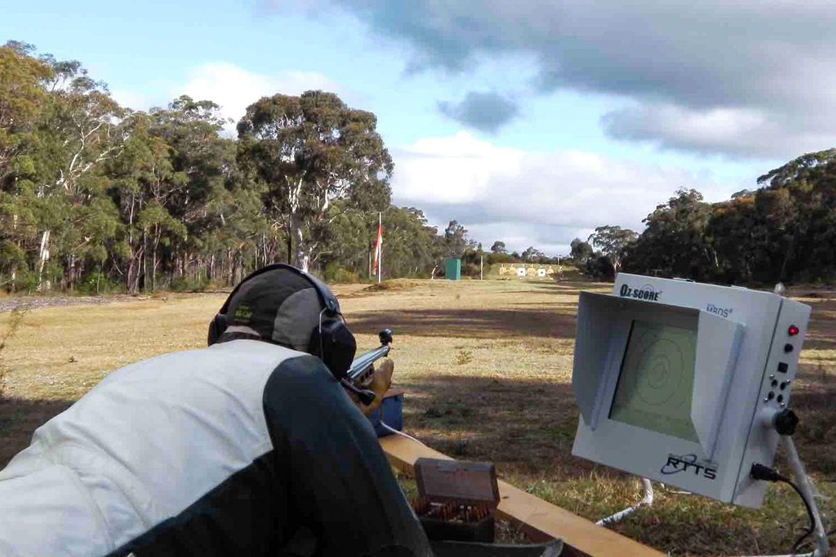 Man Aiming Gun at southern highlands rifle club