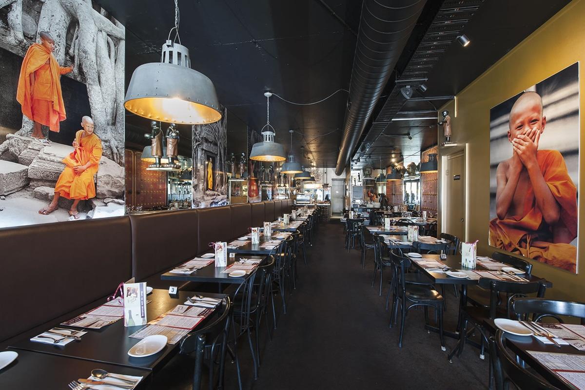 paradise road restaurant interior