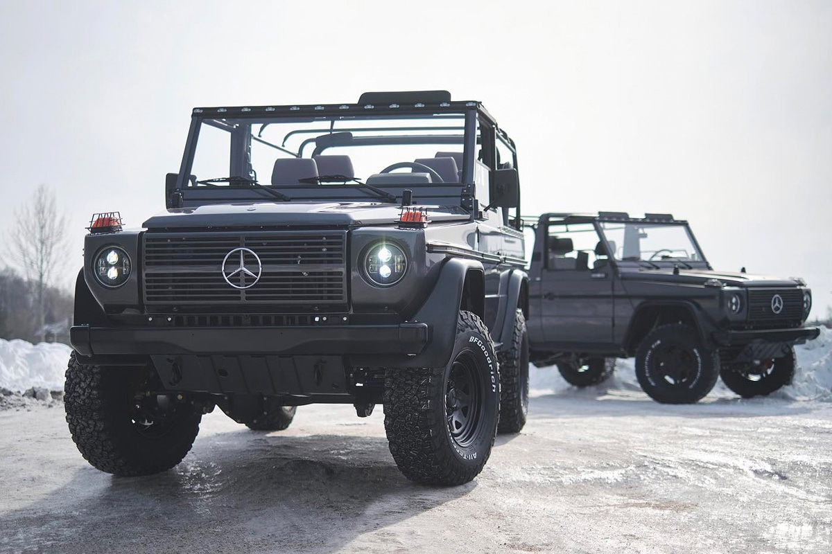 2 expedition motor company g wagen wolves