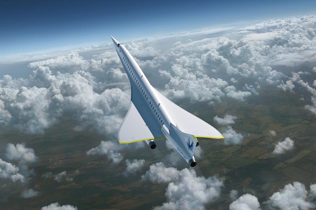 2 boom united airlines supersonic jet