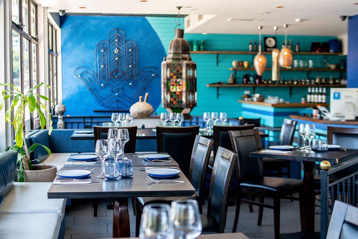 afous moroccan and spanish tapas restaurant interior