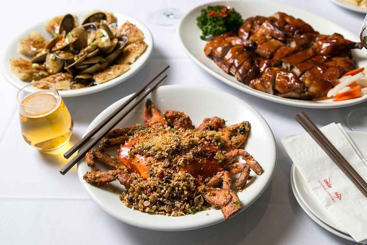 golden century seafood restaurant meal