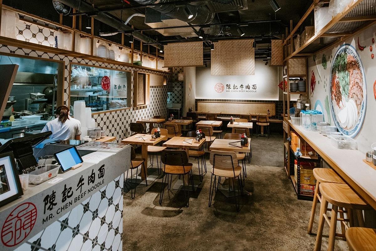 mr chen beef noodle restaurant interior