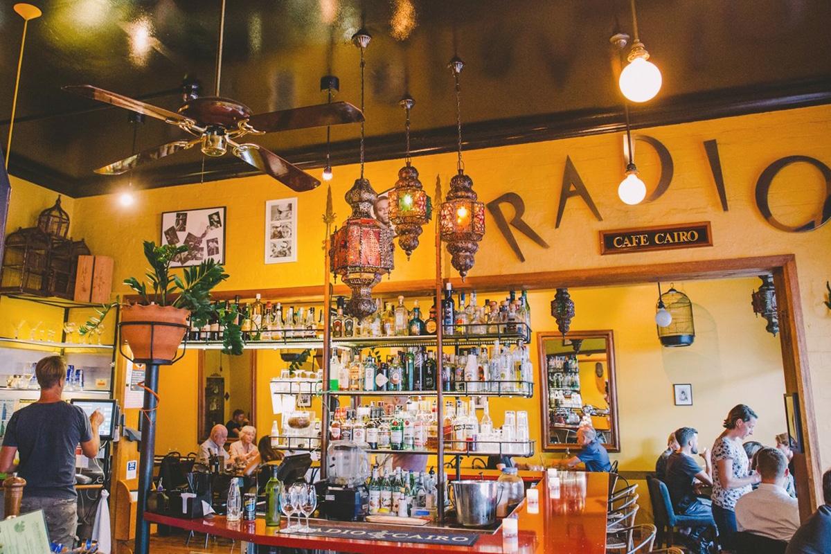 radio cairo restaurant interior