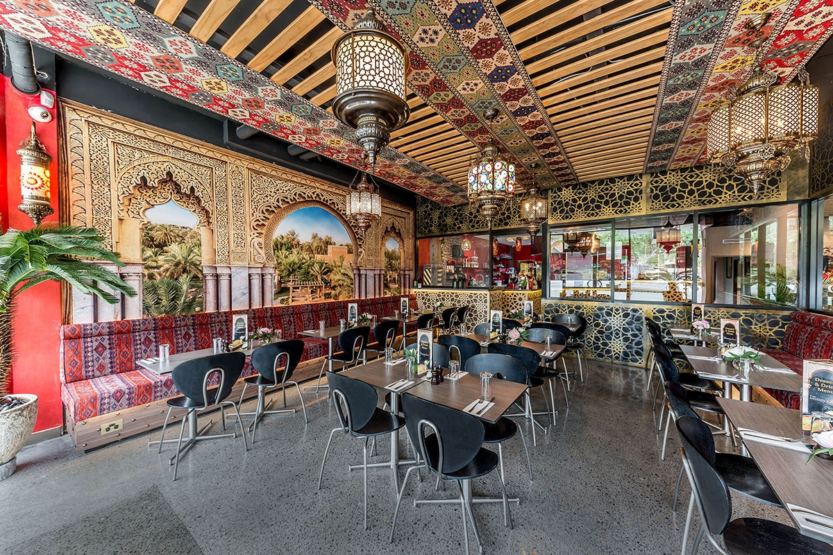 the middle feast restaurant interior