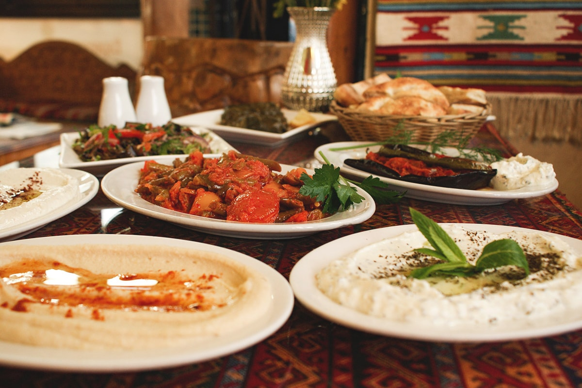 the sultans table restaurant meal