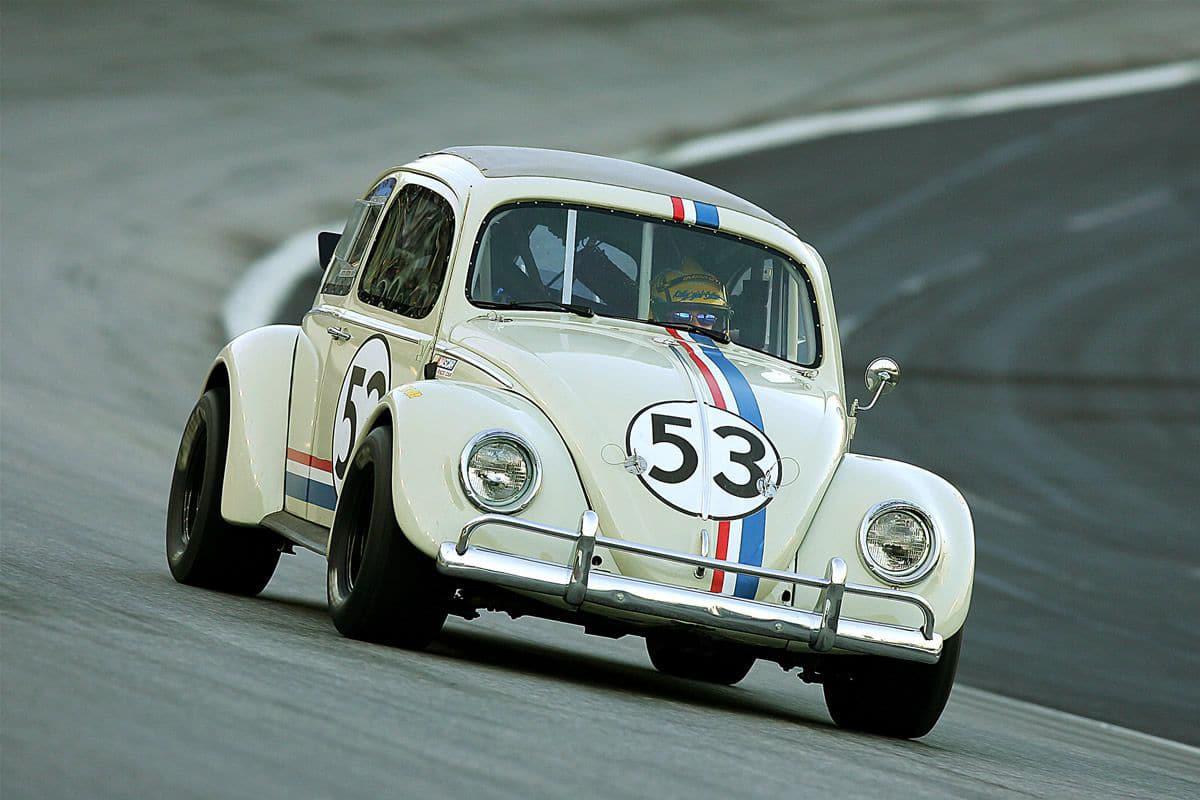 1963 volkswagen beetle from herbie movie
