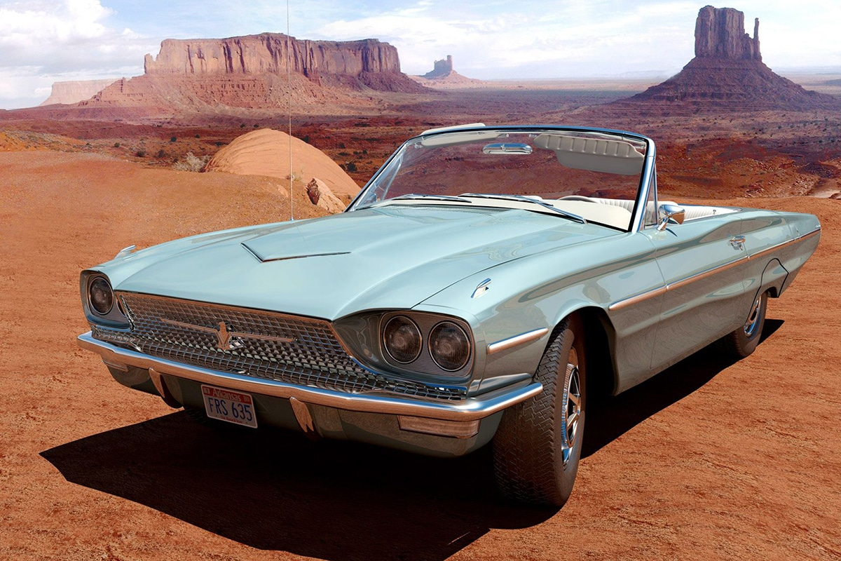 1966 Ford Thunderbird from Thelma & Louise movie