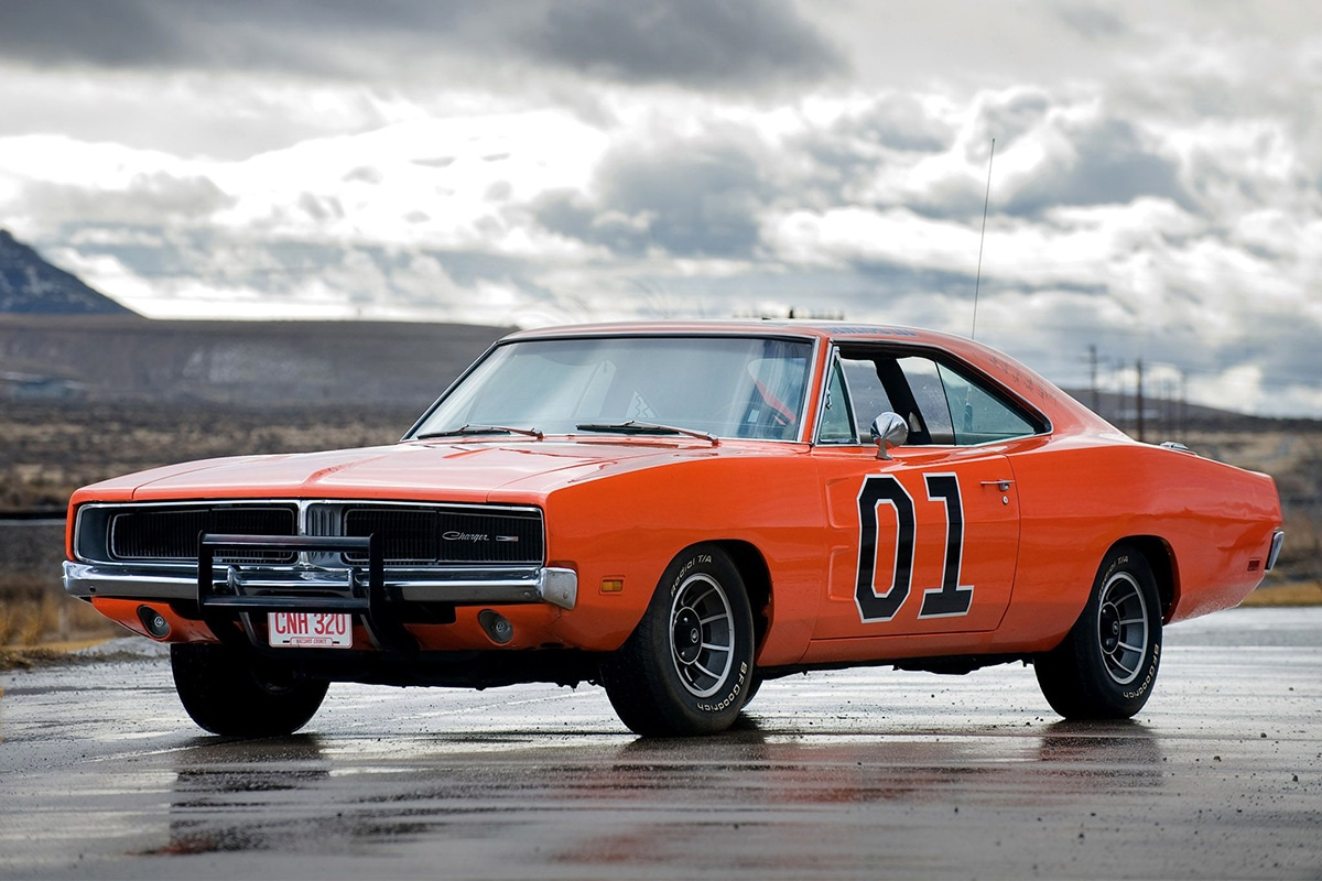 1969 Dodge Charger, General Lee from The Dukes of Hazzard movie