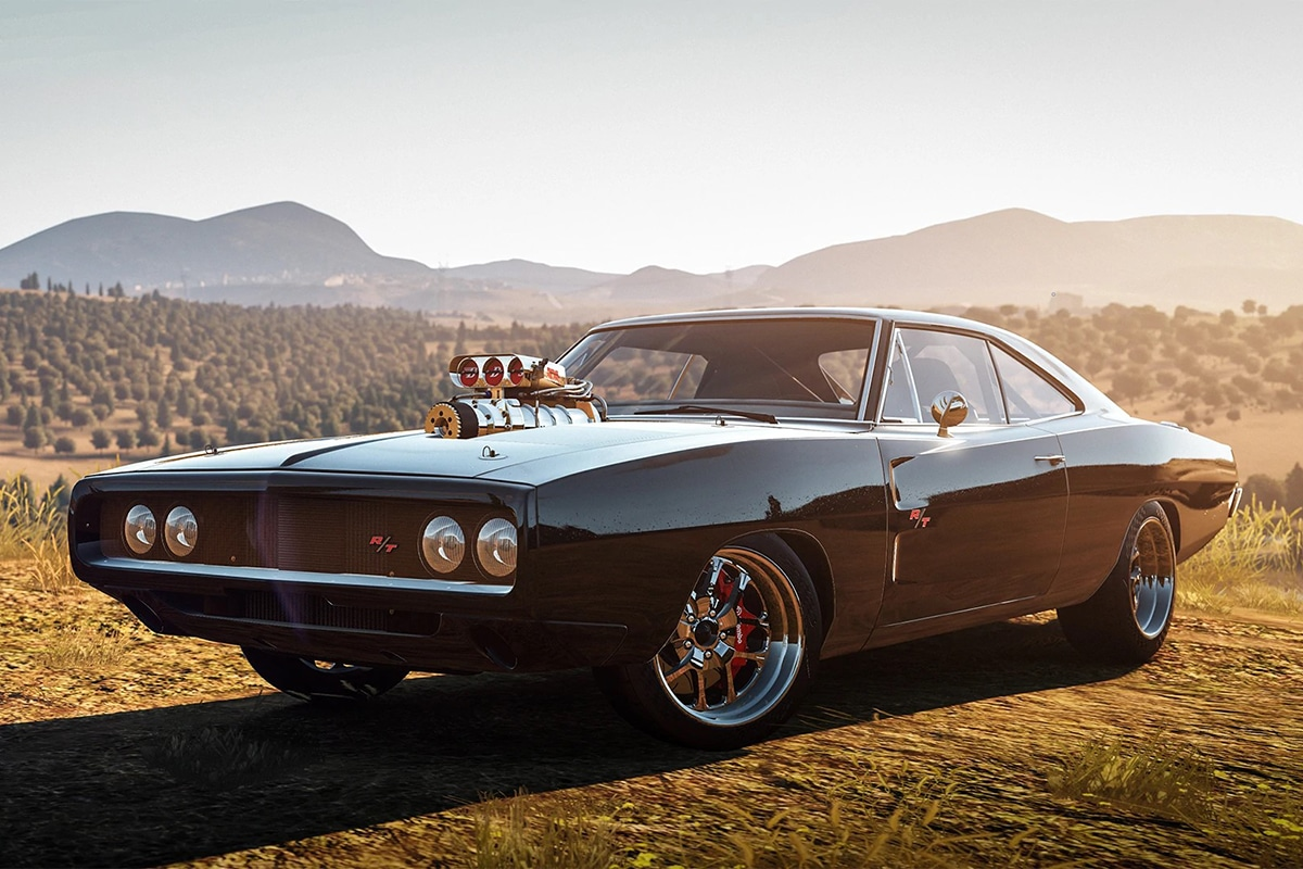 1970 Dodge Charger from The Fast and the Furious movie