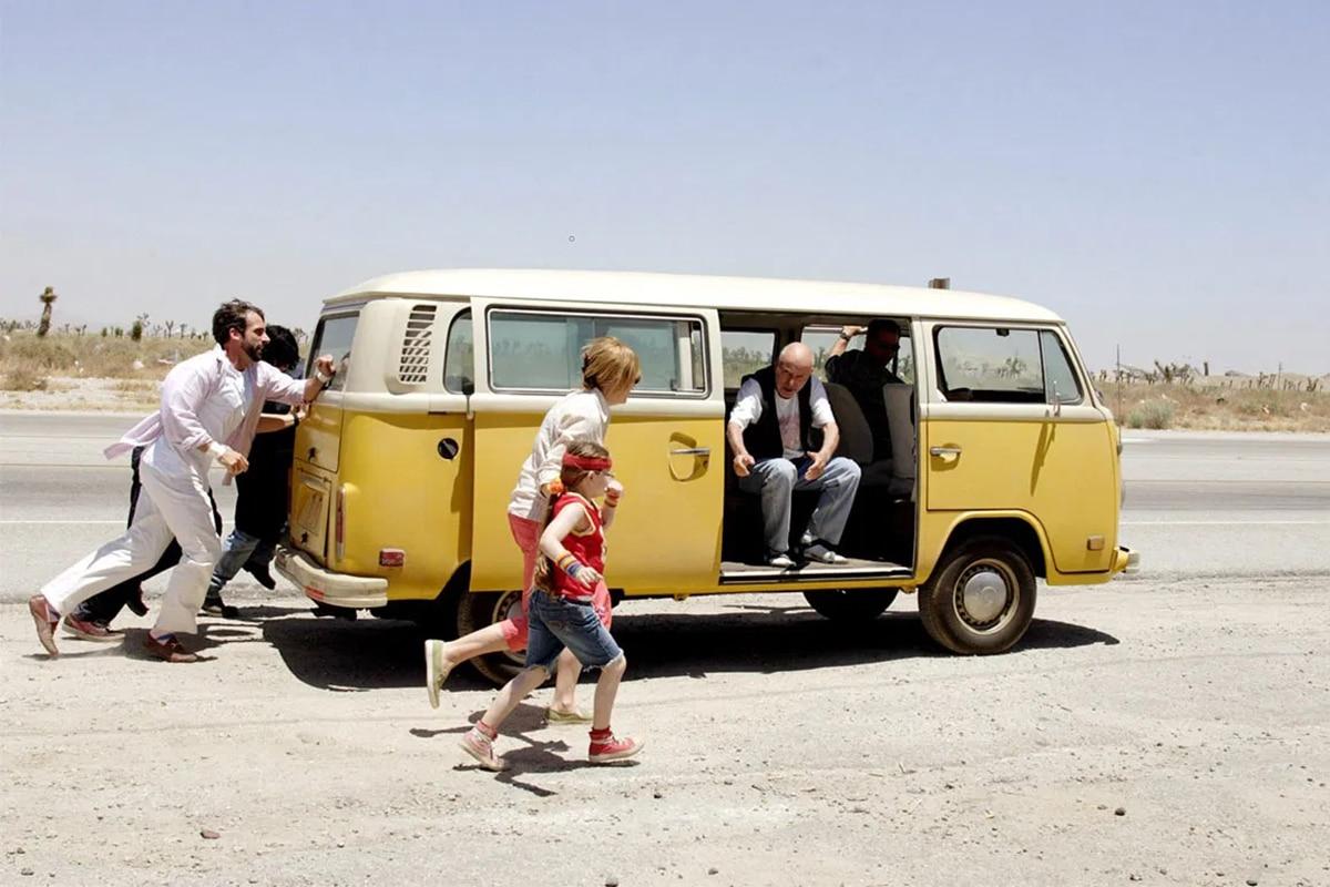 1971 Volkswagen T2 Microbus from Little Miss Sunshine movie