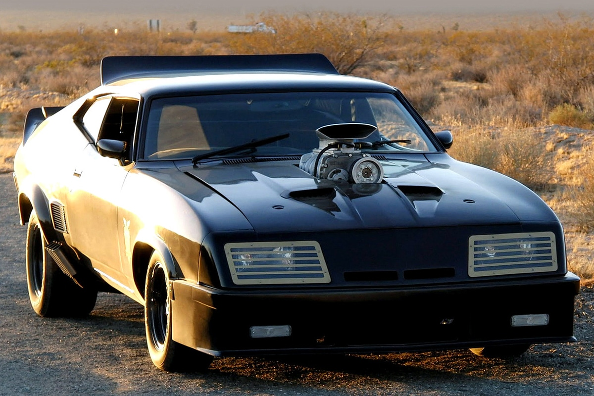 1973 Ford Falcon XB GT Pursuit Special from Mad Max movie