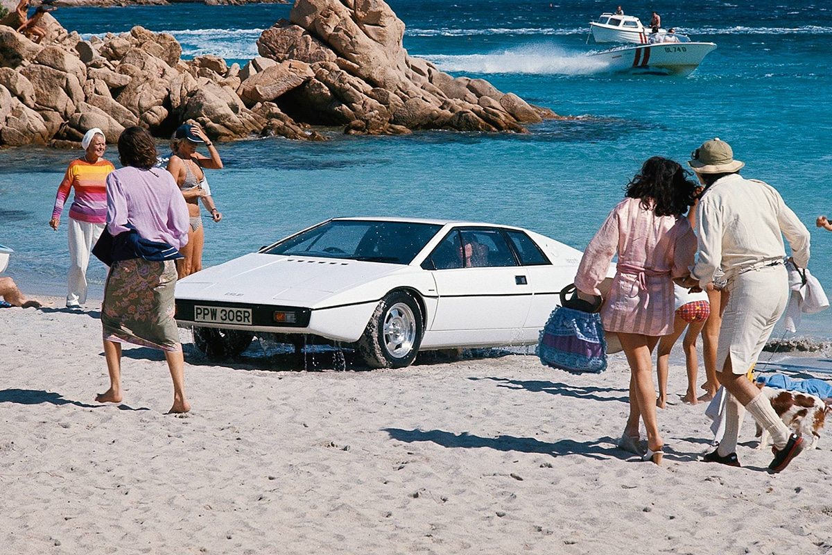 1976 Lotus Esprit Series I from The Spy Who Loved Me movie