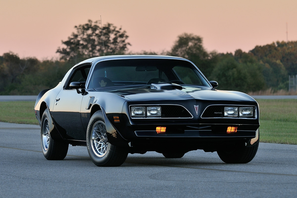 1977 Pontiac Trans Am from Smokey and the Bandit movie