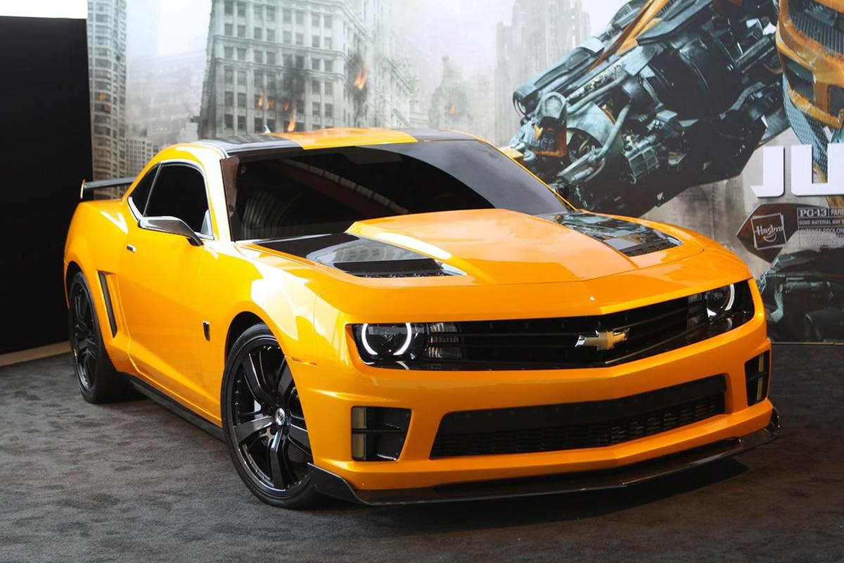 2007 Chevrolet Camaro Replica from Transformers movie