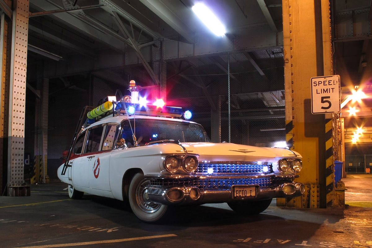 Ectomobile, 1959 Cadillac Miller-Meteor from Ghostbusters movie