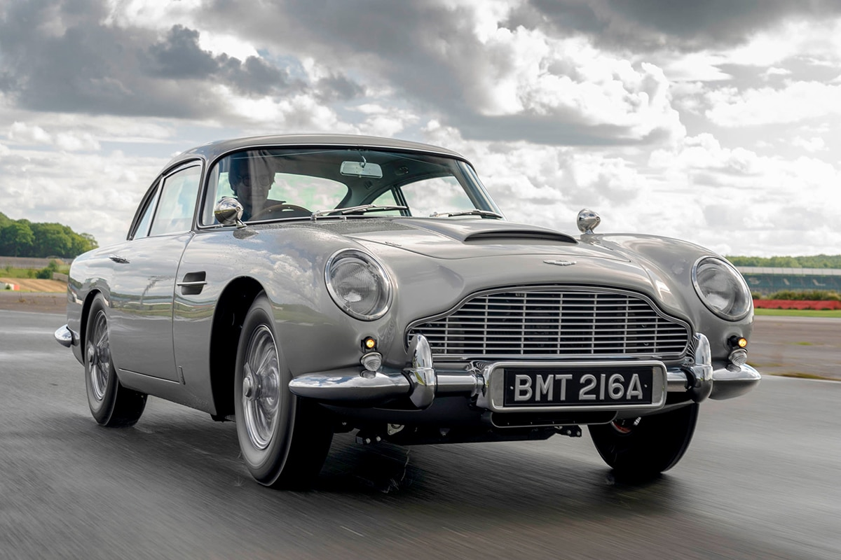 James Bond's car 1964 Aston Martin DB5