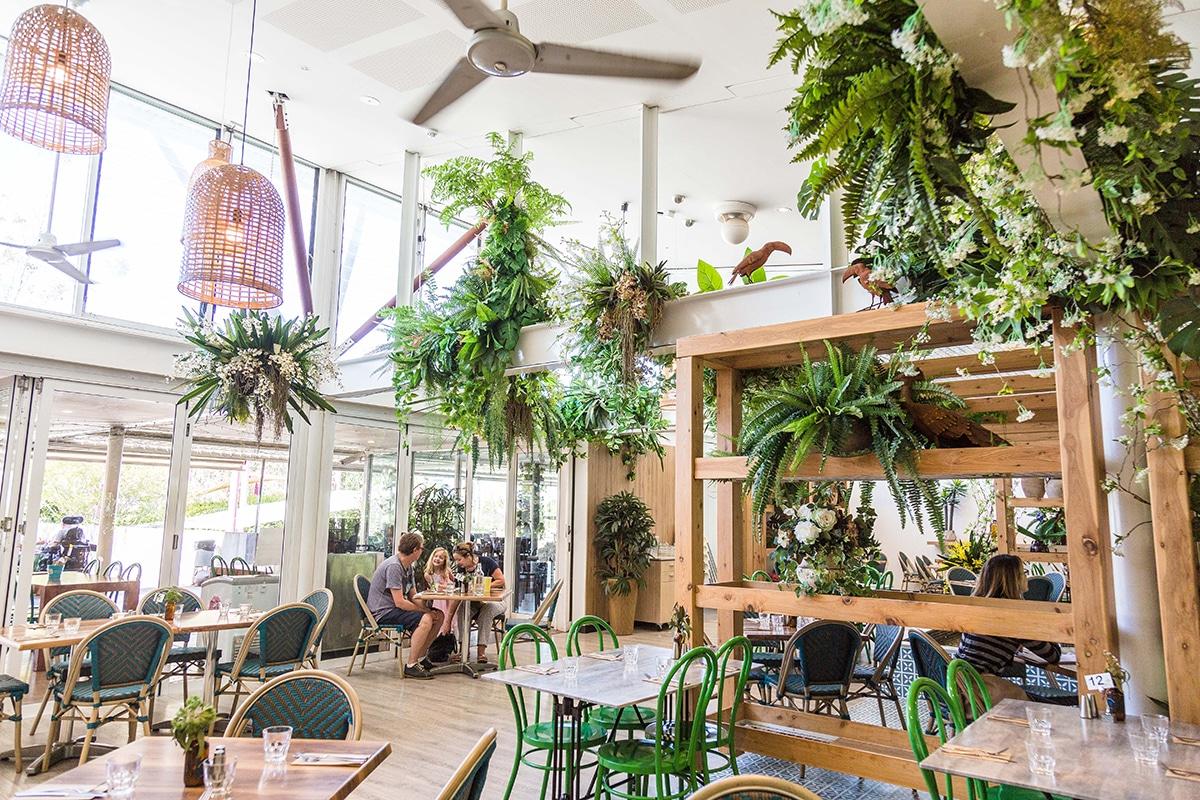eden gardens cafe interior