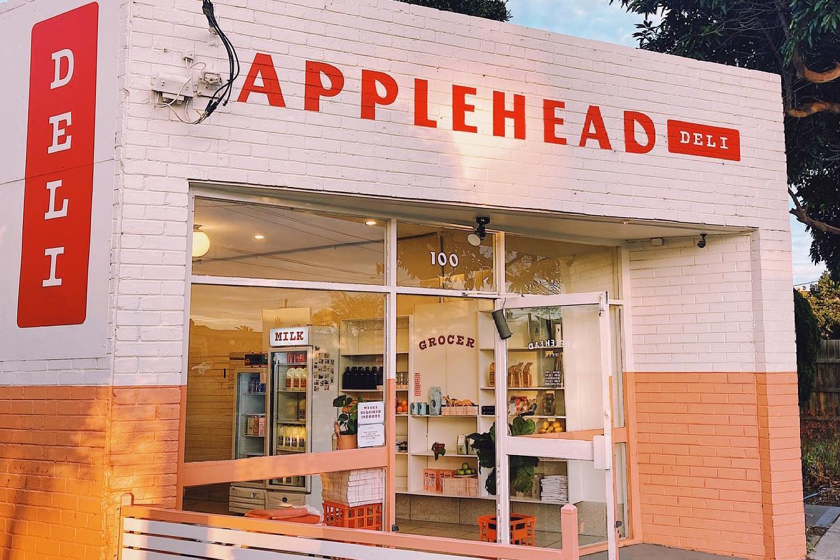 applehead deli Sandwich shop exterior