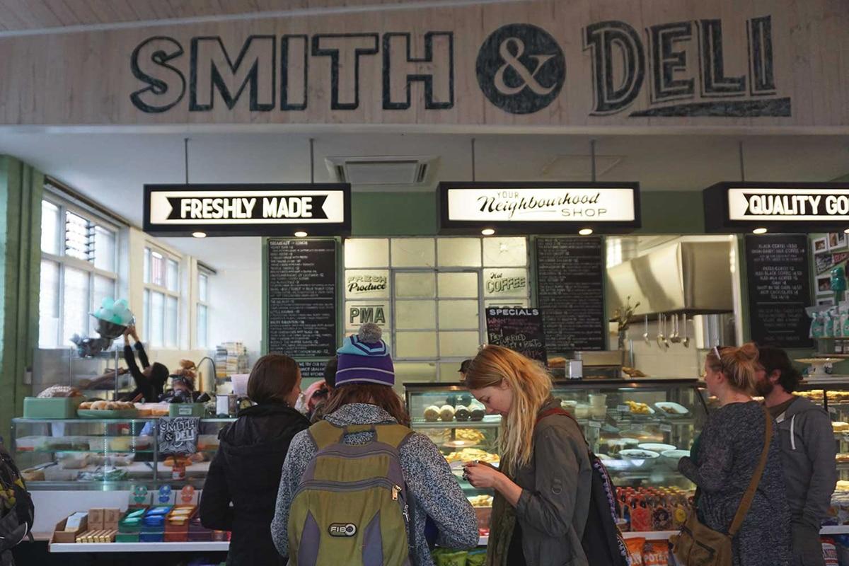 smith and deli Sandwich Shop interior