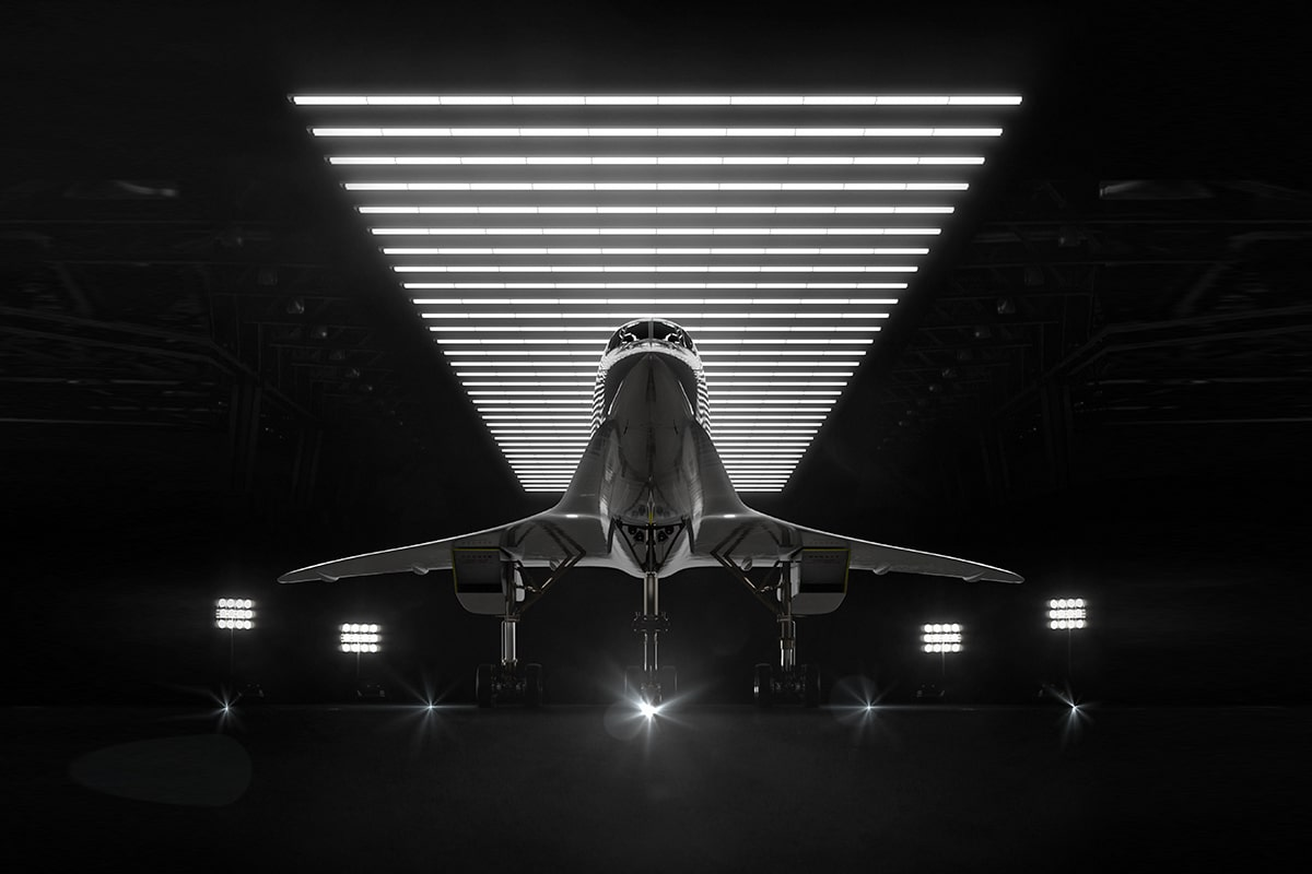 4 boom united airlines supersonic jet