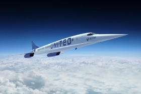6 boom united airlines supersonic jet