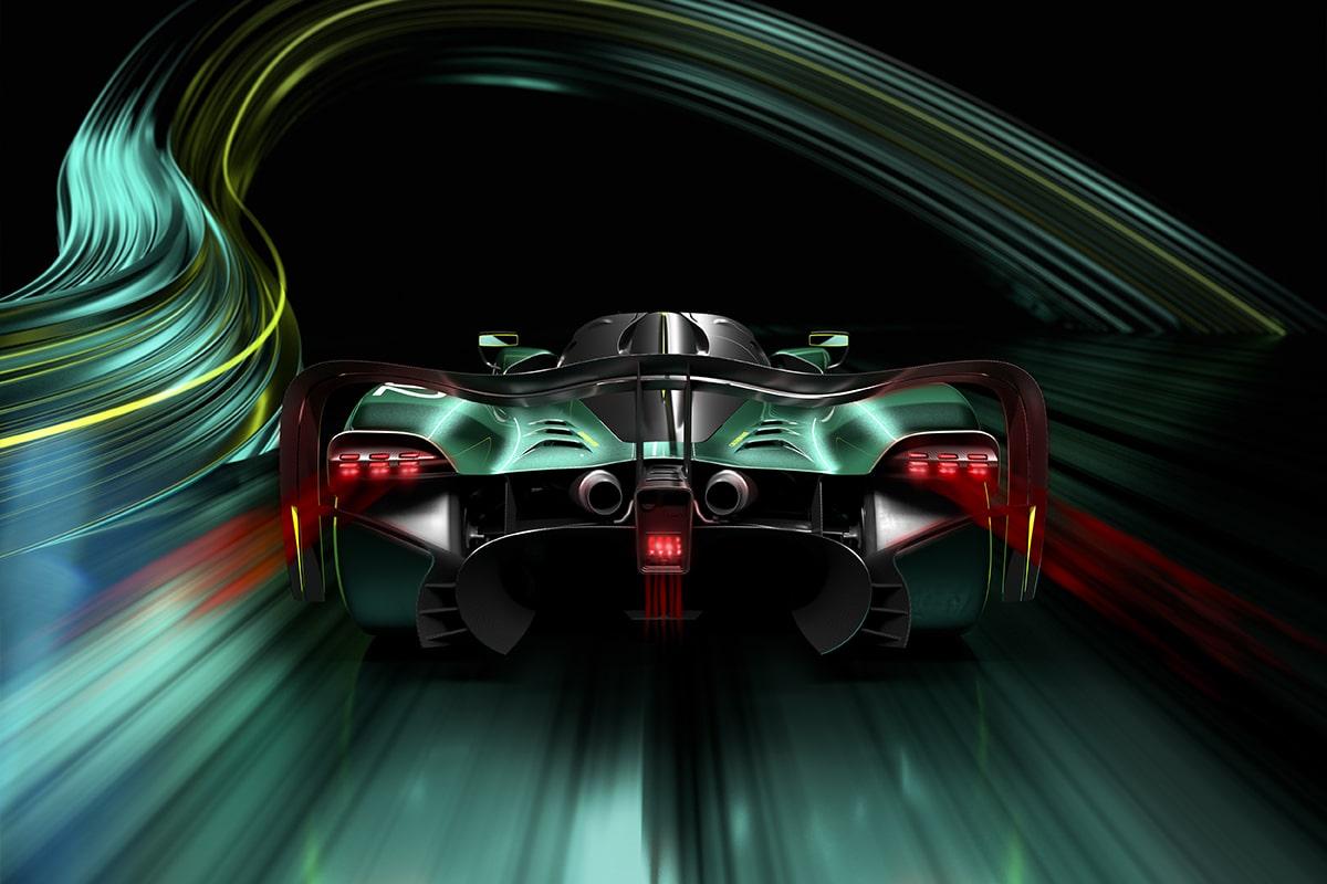 Aston martin valkyrie amr pro 3
