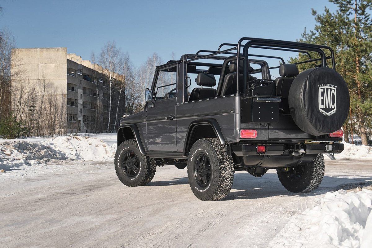 Expedition motor company g wagen 4