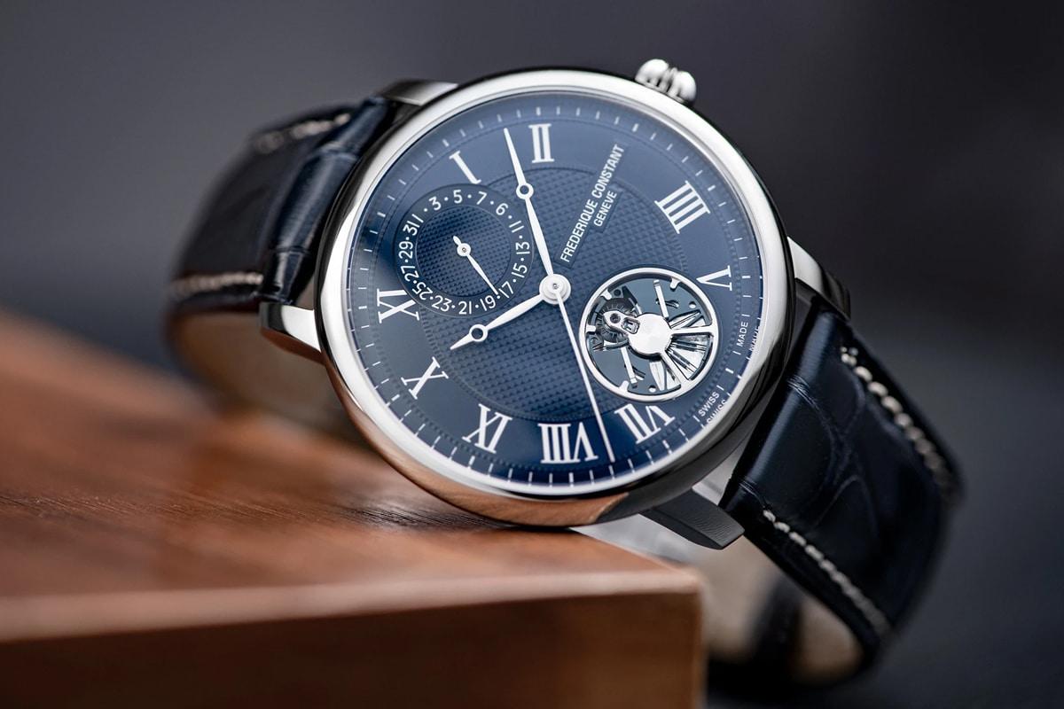 best luxury watch brands for men Frederique constant