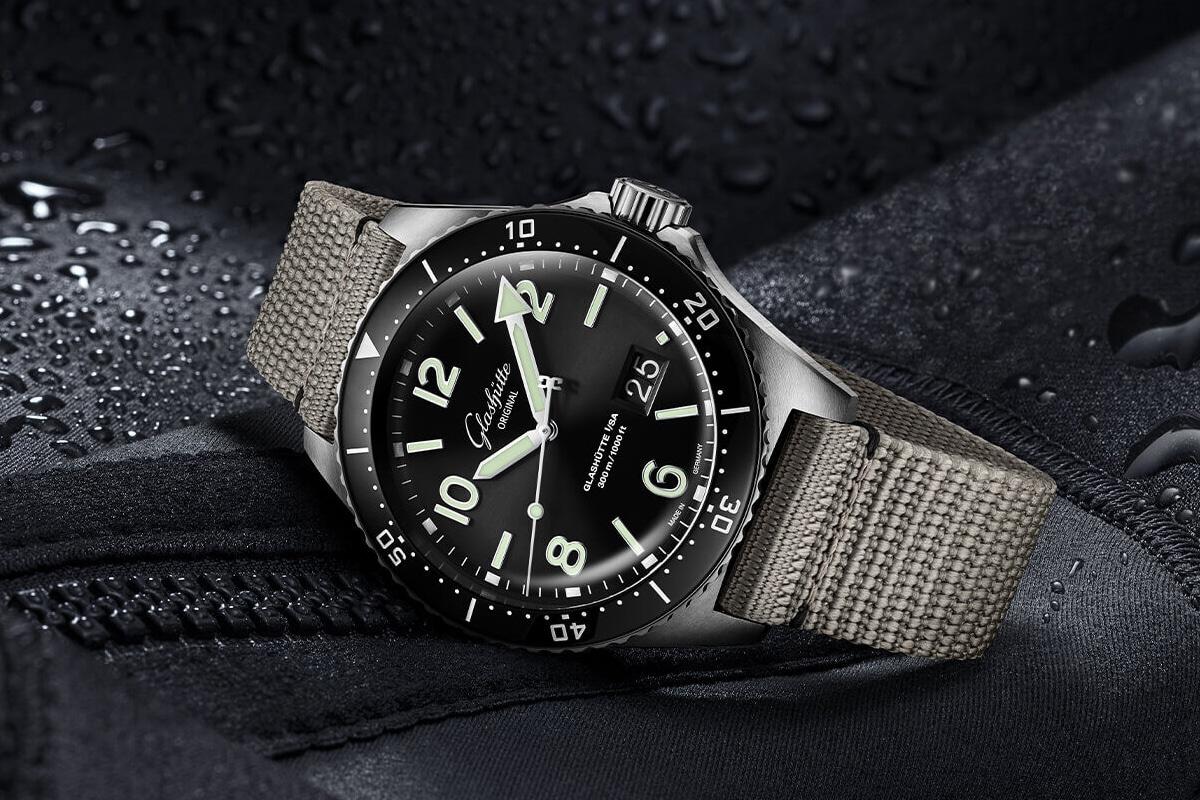 best luxury watch brands for men Glashutte original