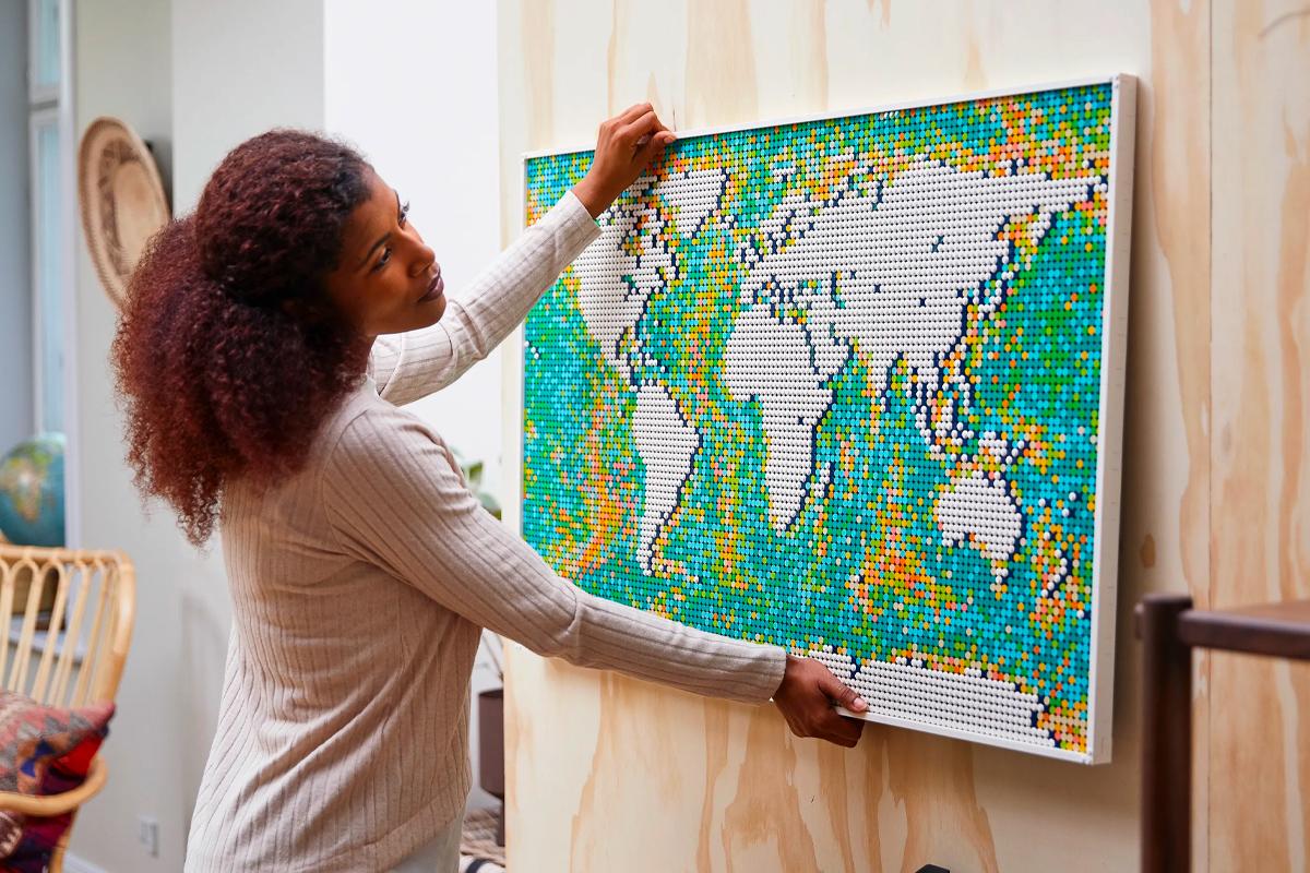 Lego world map 1 1