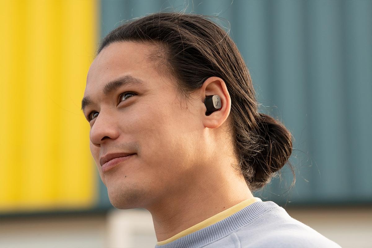 Sennheiser cx true wireless earbuds 1