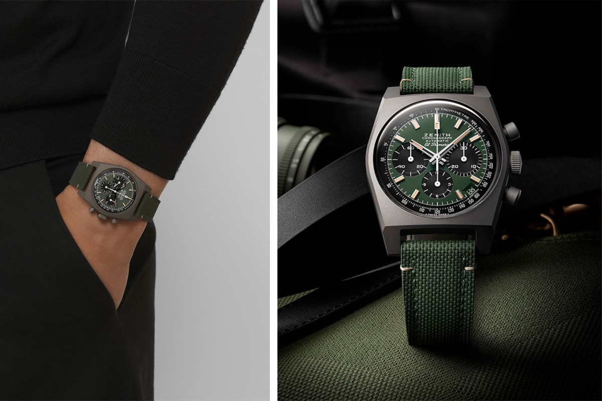 best luxury watch brands for men Zenith