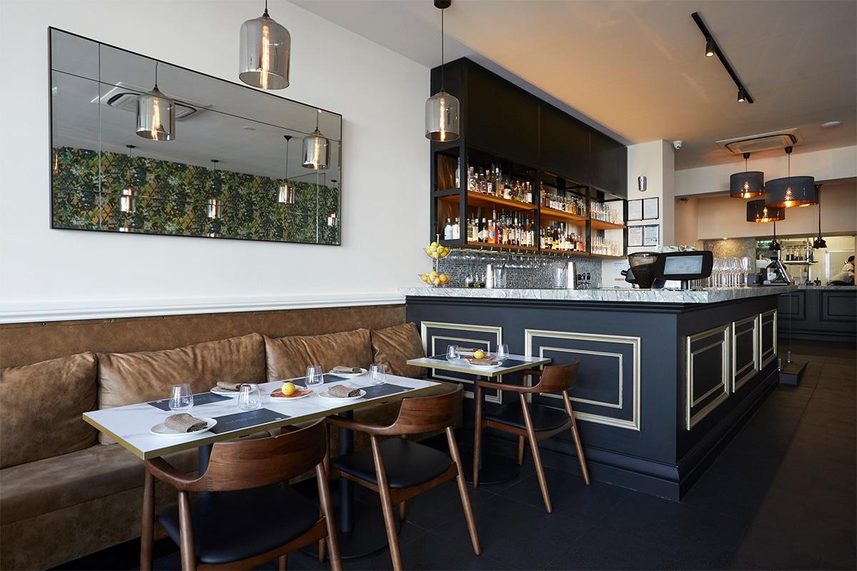 Aegean eatery with hidden bar
