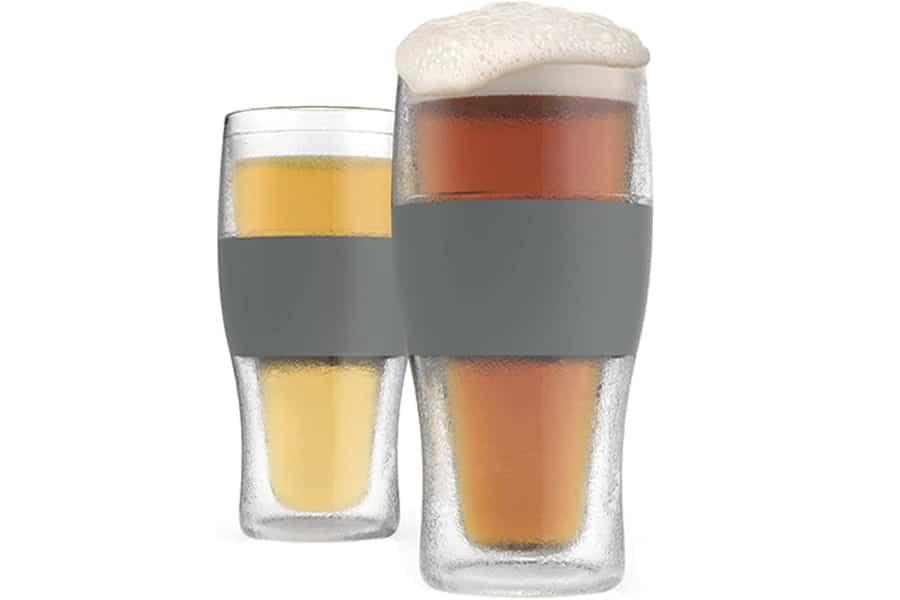 freeze cooling pint glasses