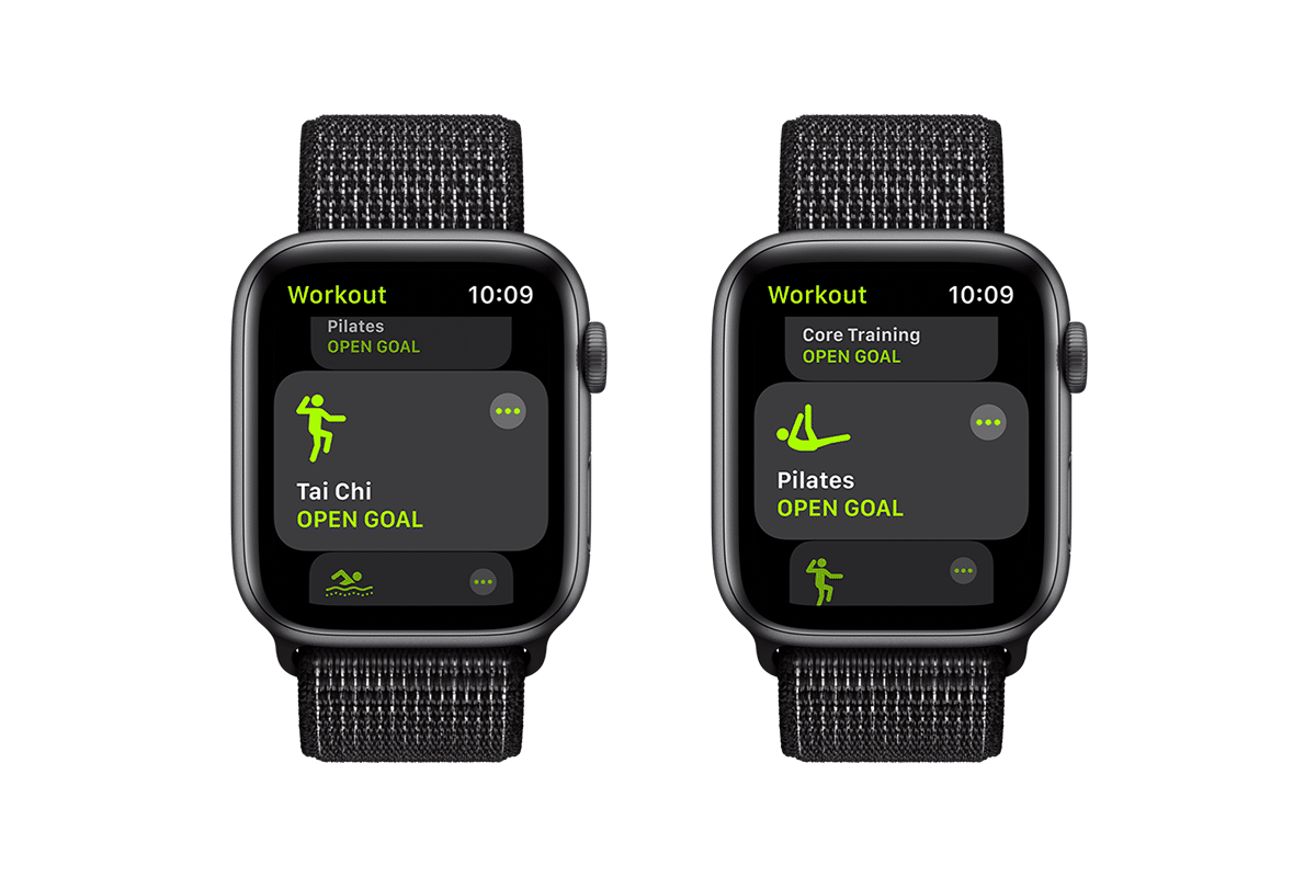 Apple watch workout features