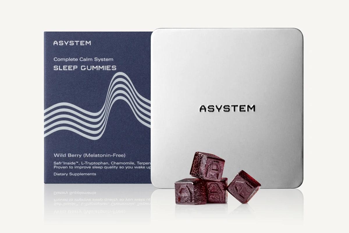 Asystem complete calm sleep gummies