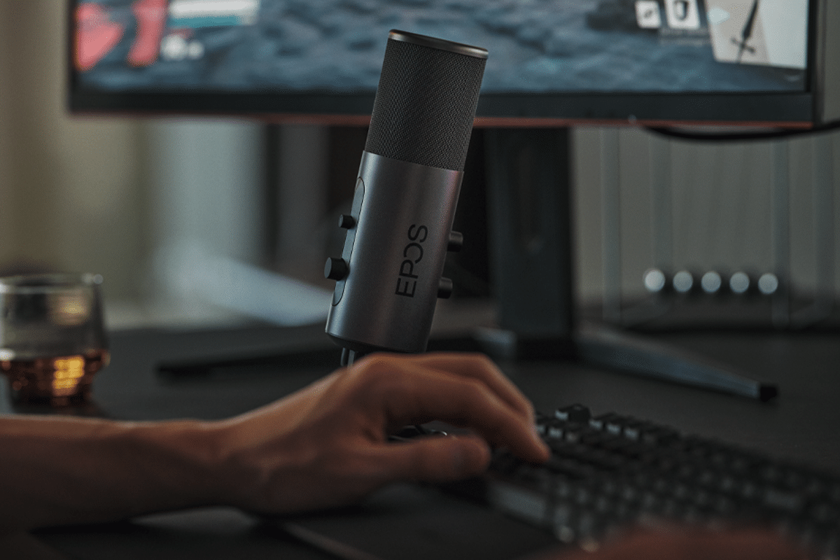 EPOS B20 is the Studio Quality Streaming Microphone to Rival All