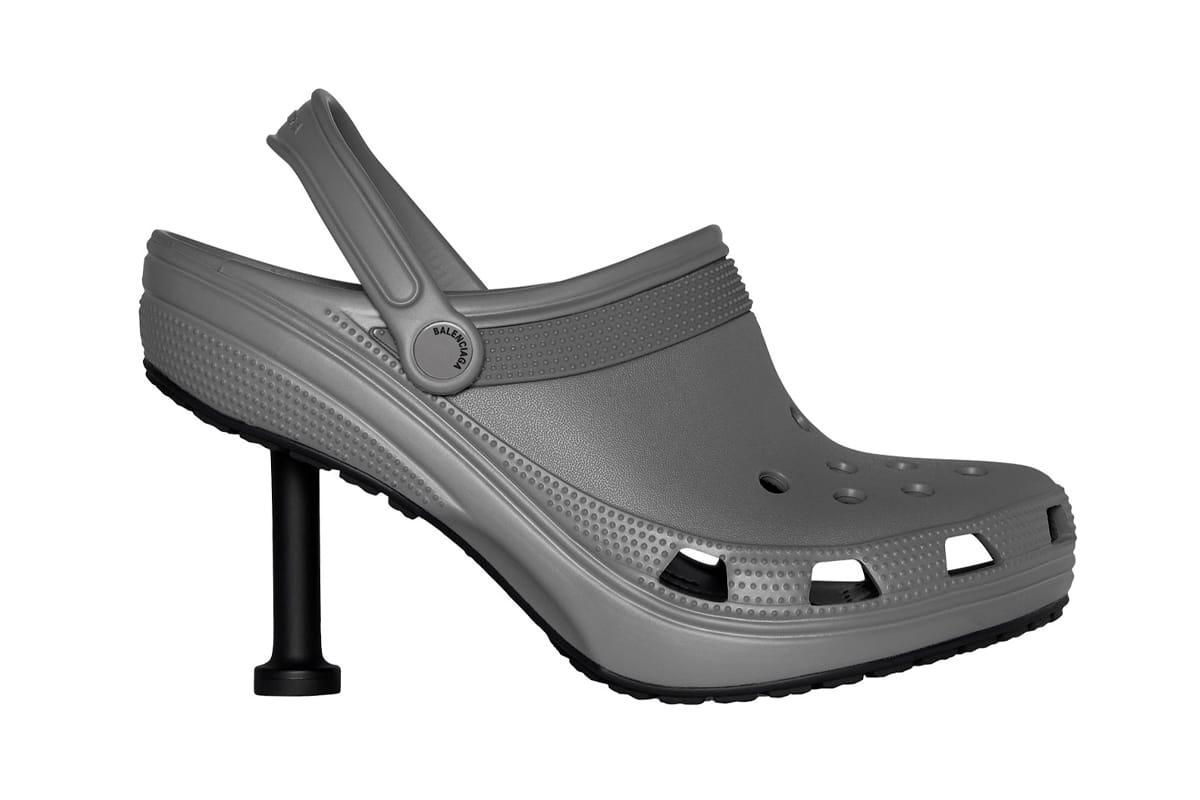 Balenciaga crocs stiletto 1