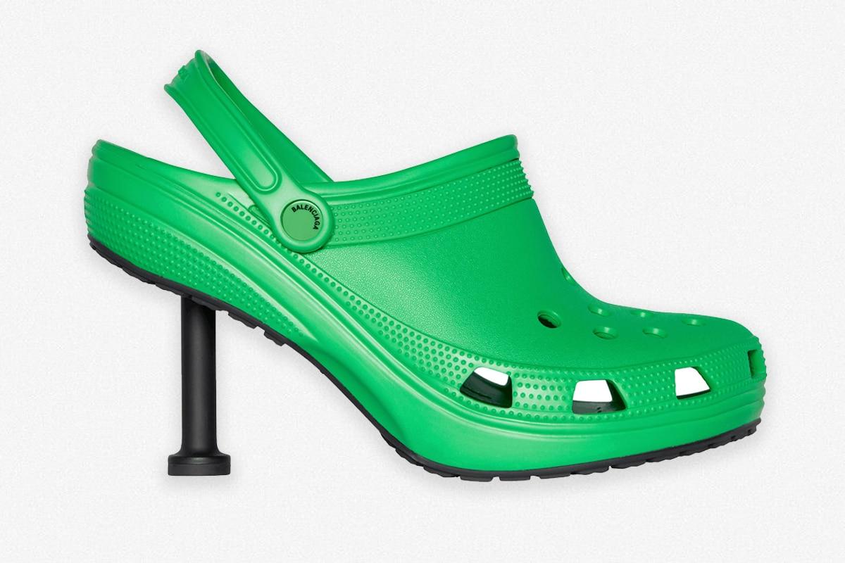 Balenciaga crocs stiletto 2