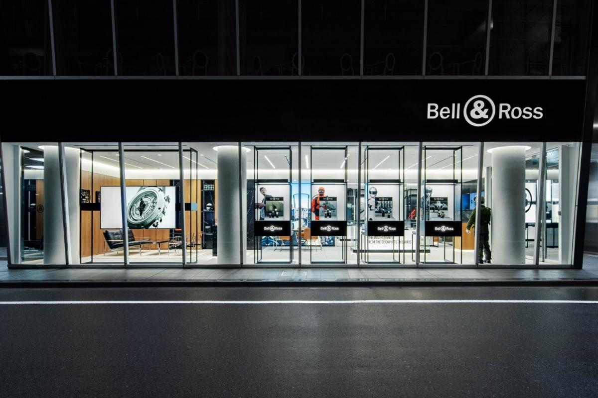 Bell ross sets up shop in tokyo