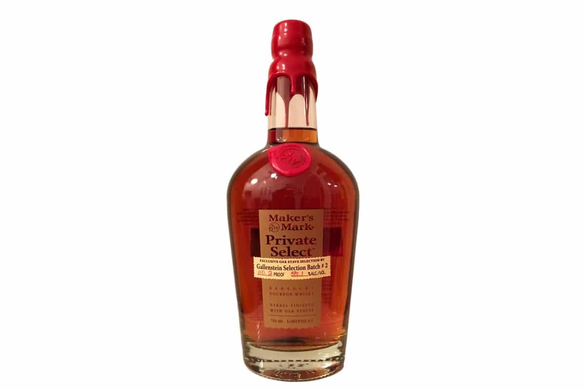 Black bourbon society makers mark private selection recipe 2