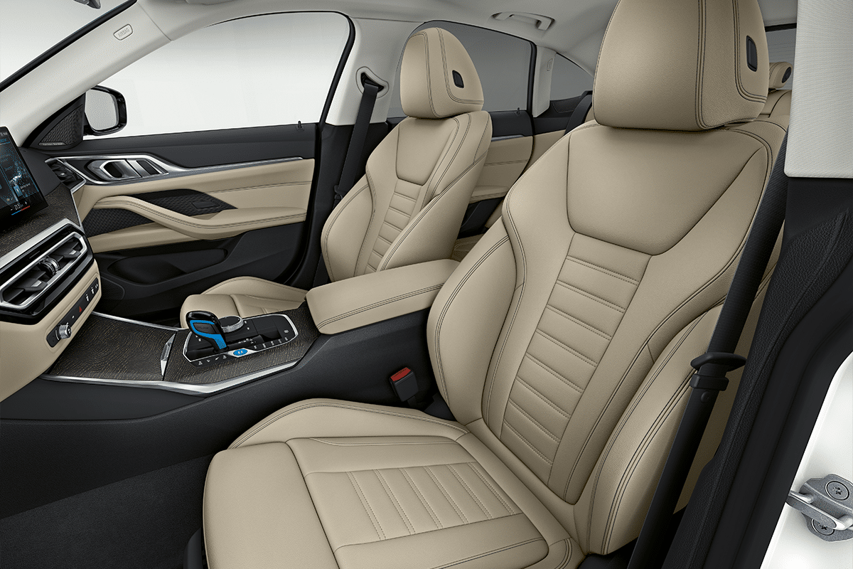 Bmw i4 front seat