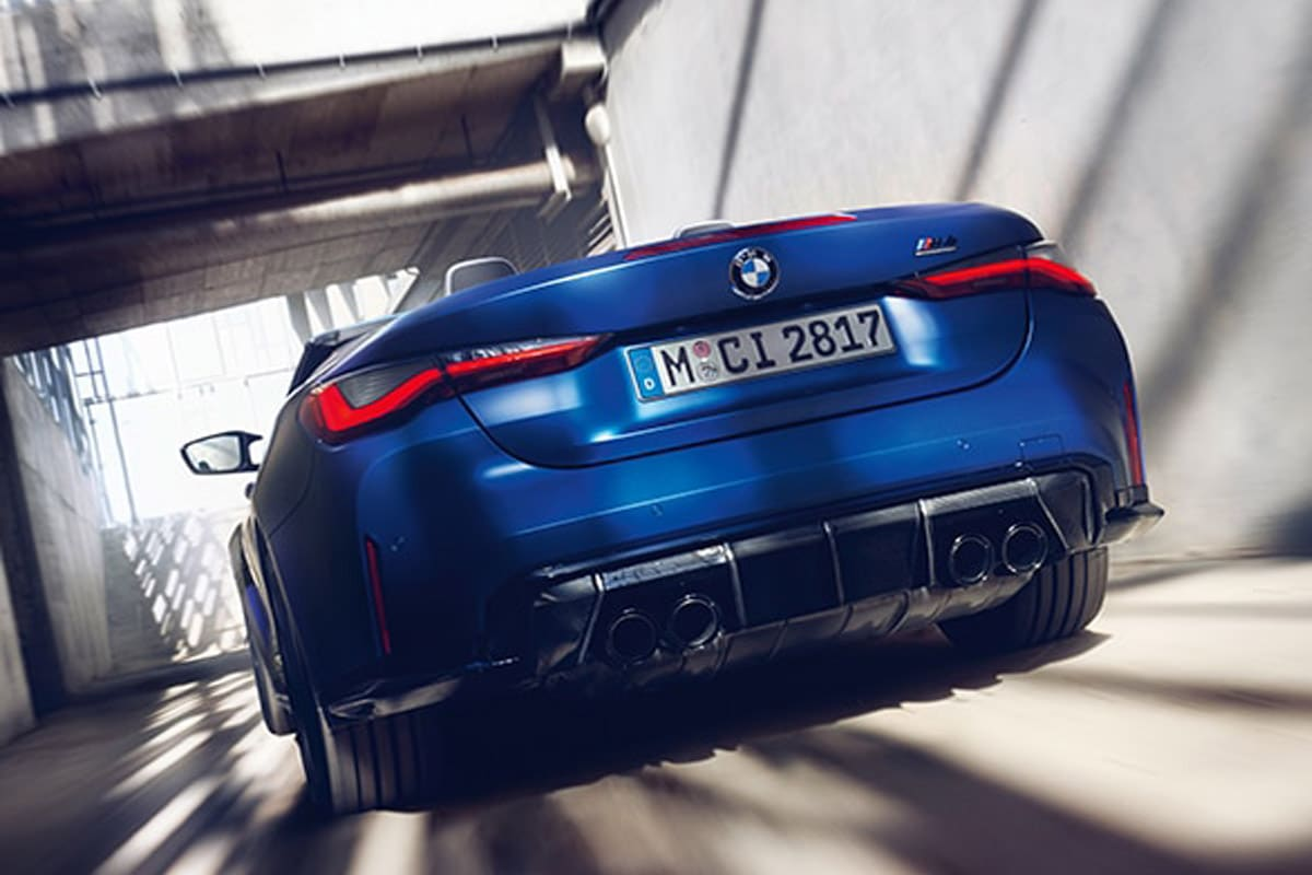 Bmw m4 competition xdrive convertible 1