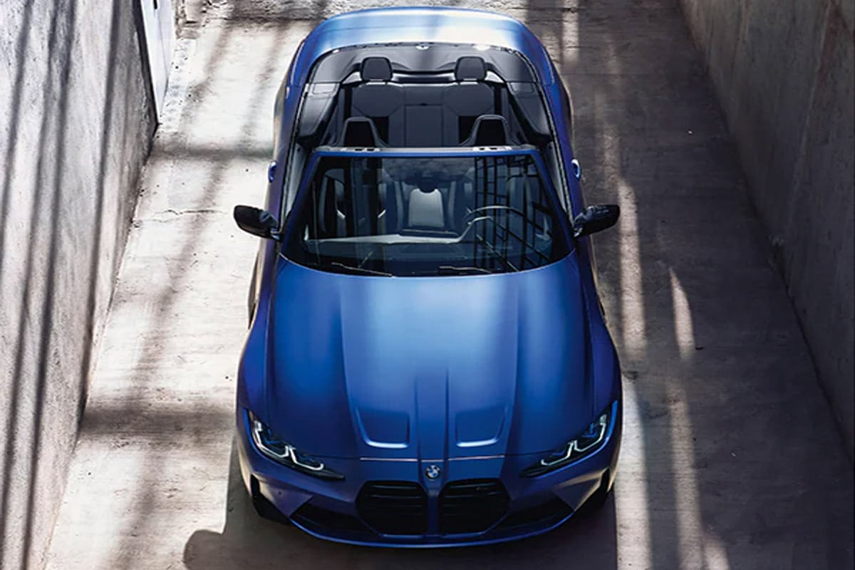 Bmw m4 competition xdrive convertible 5