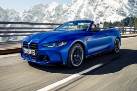 Bmw m4 competition xdrive convertible 8