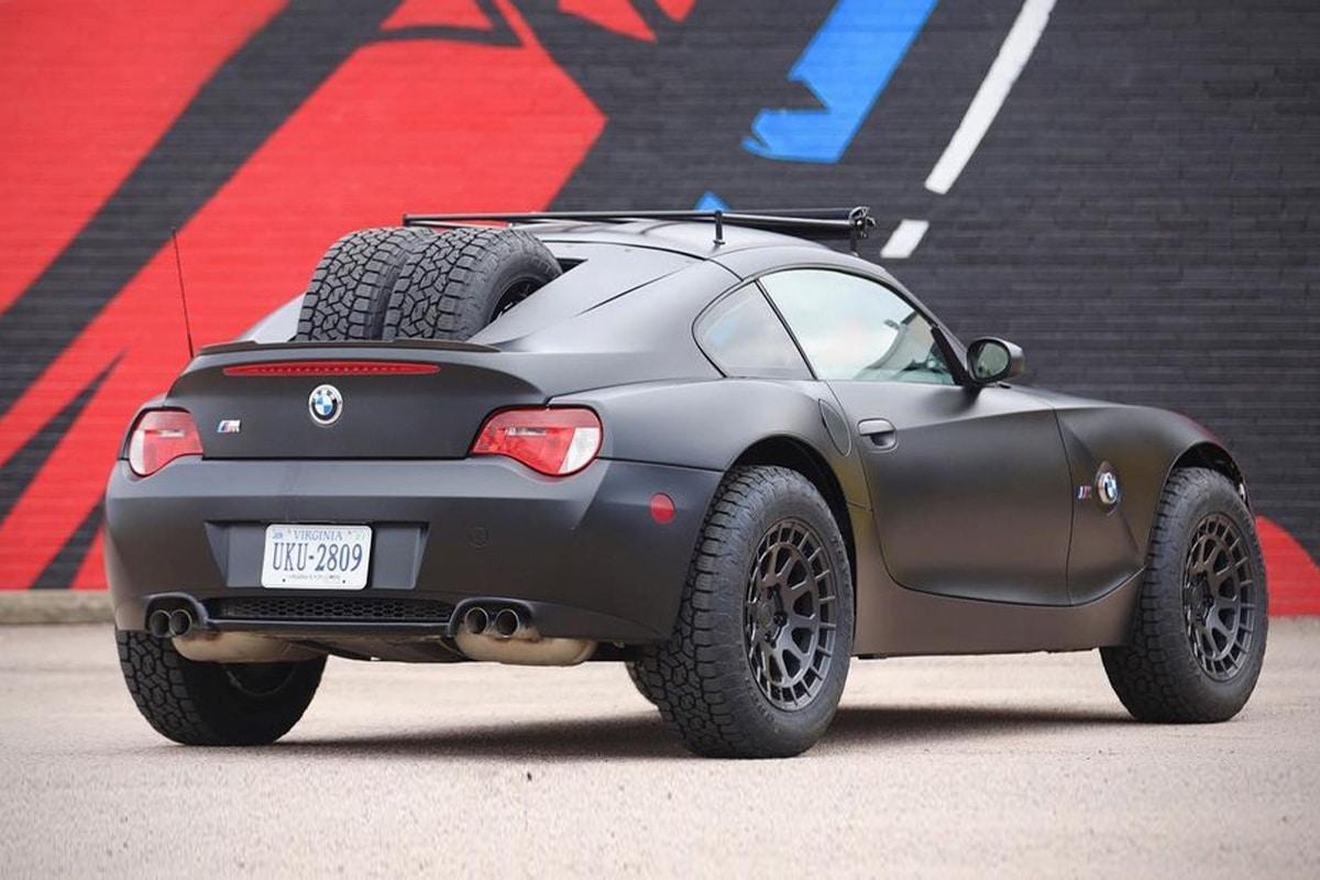 Bmw z4 m coupe safari racer 2