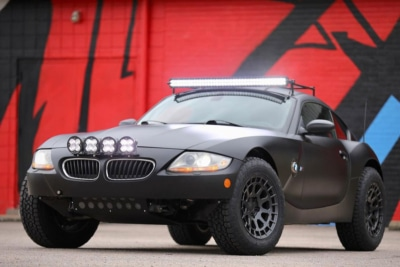 BMW Z4 M Coupe Safari Racer: Cool or Stupid? You Decide